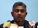 Sri Lanka's new manager Asanka Gurusinha addresses the media, Colombo, March 5, 2017