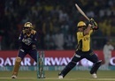 Kamran Akmal lays into a cut shot, Peshawar Zalmi v Quetta Gladiators, PSL 2016-17, final, Lahore, March 5, 2017
