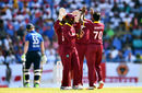 Ben Stokes fell to Devendra Bishoo as England's collapse gathered pace, West Indies v England, 2nd ODI, Antigua, March 5, 2017