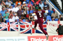 Ashley Nurse claimed a vital three-wicket haul, West Indies v England, 2nd ODI, Antigua, March 5, 2017
