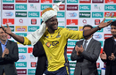 Darren Sammy soaks up victory adulation from the Lahore crowd, Peshawar Zalmi v Quetta Gladiators, PSL 2016-17, final, Lahore, March 5, 2017