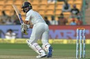 Ajinkya Rahane found form during the second innings, India v Australia, 2nd Test, Bengaluru, 3rd day, March 6, 2017