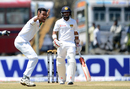 Subashis Roy appeals for the wicket of Kusal Mendis, Sri Lanka v Bangladesh, 1st Test, Galle, 1st Day, March 7-11, 2017