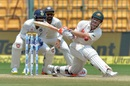 David Warner was lbw trying to sweep R Ashwin, India v Australia, 2nd Test, Bengaluru, 4th day, March 7, 2017