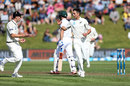 Trent Boult gave New Zealand their first breakthrough, New Zealand v South Africa, 1st Test, Dunedin, 1st day, March 8, 2017