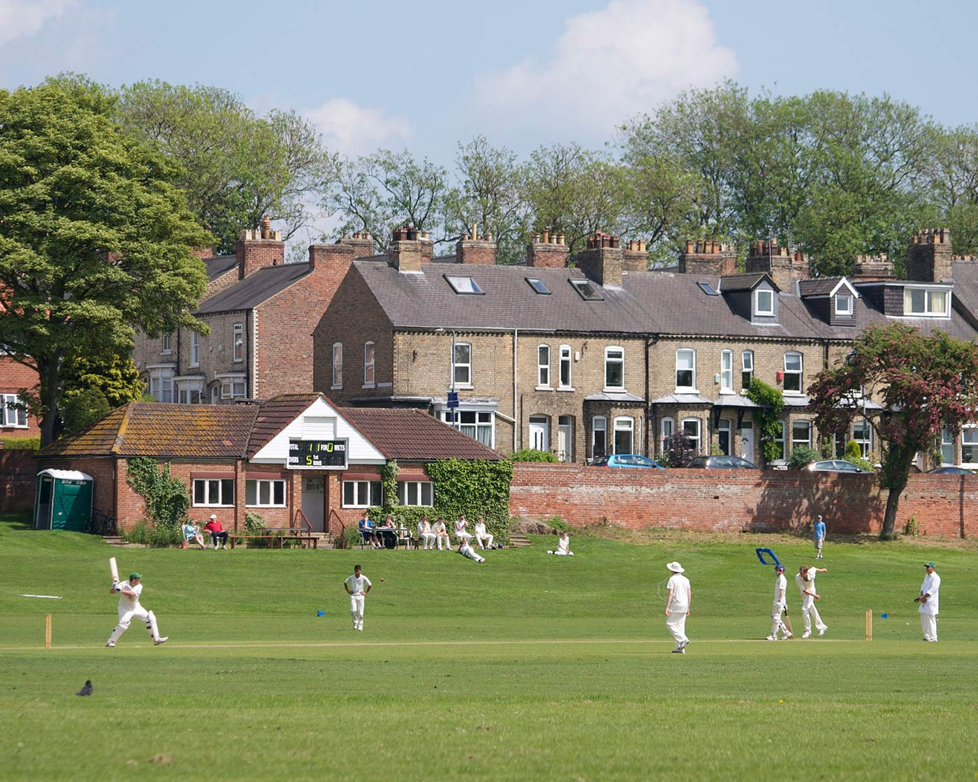 The Ovington Cricket Club ground