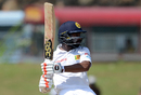 Niroshan Dickwella struck a 52-ball fifty, Sri Lanka v Bangladesh, 1st Test, Galle, 2nd day, March 8, 2017