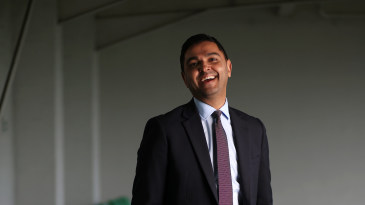 Leicestershire chief executive Wasim Khan