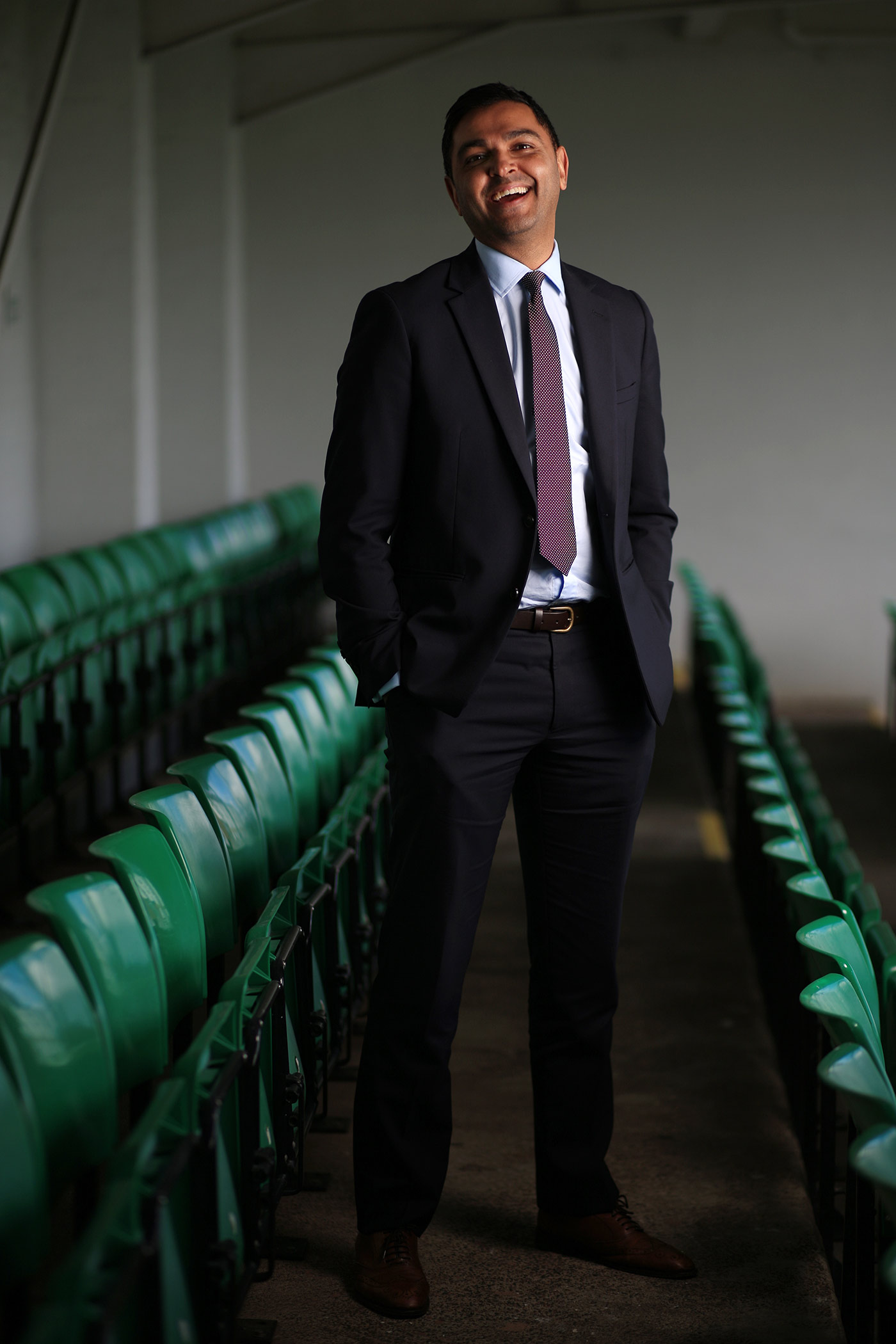 Leicestershire CEO Wasim Khan has been big on getting the Asian diaspora interested in the county game