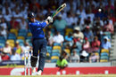 Jason Roy pulls in the air, West Indies v England, 3rd ODI, Barbados, March 9, 2017