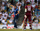 Liam Plunkett had Jason Holder caught behind for a first-ball duck, West Indies v England, 3rd ODI, Barbados, March 9, 2017