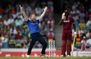 Ben Stokes had Carlos Brathwaite lbw with the first he had bowled to him since the World T20 final, West Indies v England, 3rd ODI, Barbados, March 9, 2017