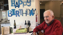 Jack Laver on his 100th birthday, March 9, 2017