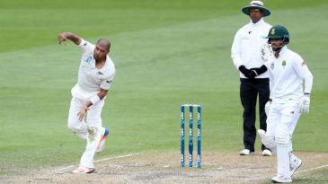 Jeetan Patel bowled a marathon 28-over spell