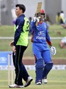 Najeeb Tarakai blitzed a 58-ball 90, Afghanistan v Ireland, 2nd T20I, Greater Noida, March 10, 2017