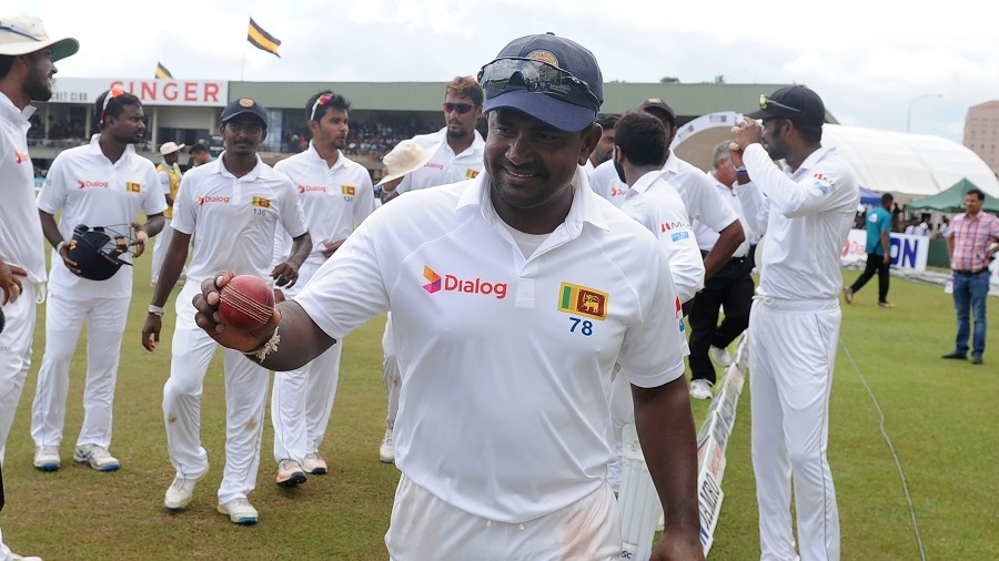 Rangana Herath became the most successful left-arm spinner in Test cricket
