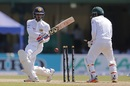Dhananjaya de Silva was bowled for 34, Sri Lanka v Bangladesh, 2nd Test, Colombo, 1st day, March 15, 2017