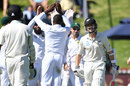 Kane Williamson was lbw to Kagiso Rabada, New Zealand v South Africa, 2nd Test, Wellington, 1st day, March 16, 2017