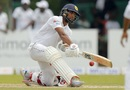 Dinesh Chandimal brings out the reverse sweep, Sri Lanka v Bangladesh, 2nd Test, Colombo, 2nd day, March 16, 2017