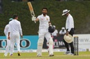 Dinesh Chandimal celebrates his century, Sri Lanka v Bangladesh, 2nd Test, Colombo, 2nd day, March 16, 2017