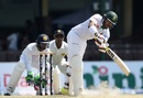 Soumya Sarkar turns one away into the leg side, Sri Lanka v Bangladesh, 2nd Test, Colombo, 2nd day, March 16, 2017