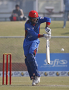 Noor Ali Zadran clips the ball to the leg side, Afghanistan v Ireland, 2nd ODI, Greater Noida, March 17, 2017
