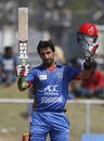 Asghar Stanikzai smashed his maiden ODI century, Afghanistan v Ireland, 2nd ODI, Greater Noida, March 17, 2017