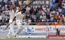 M Vijay makes his ground despite a direct hit, India v Australia, 3rd Test, Ranchi, 2nd day, March 17, 2017