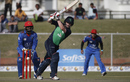 William Porterfield drives through the leg side, Afghanistan v Ireland, 2nd ODI, Greater Noida, March 17, 2017