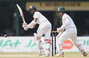 Kusal Mendis guides one down the leg side, Sri Lanka v Bangladesh, 2nd Test, Colombo, 4th day, March 18, 2017