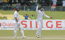 Shakib Al Hasan brings out a subdued celebration, Sri Lanka v Bangladesh, 2nd Test, Colombo, 4th day, March 18, 2017
