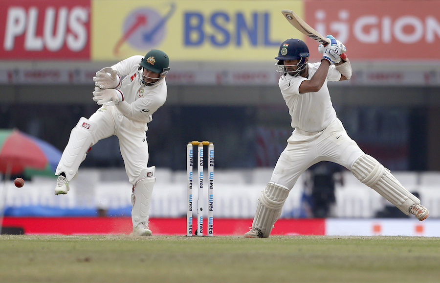 Pujara's Ranchi innings against Australia lasted 525 balls - the longest by an Indian