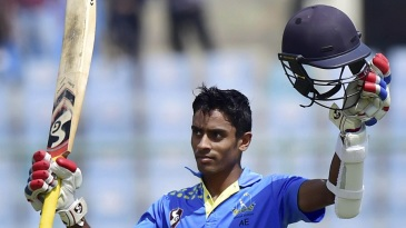 Abhimanyu Easwaran struck a match-winning ton