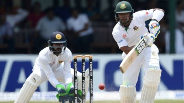 Sabbir Rahman steadied Bangladesh's chase