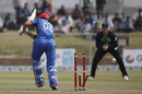 Tim Murtagh broke Rahmat Shah's middle stump into two, Afghanistan v Ireland, 3rd ODI, Greater Noida, March 19, 2017