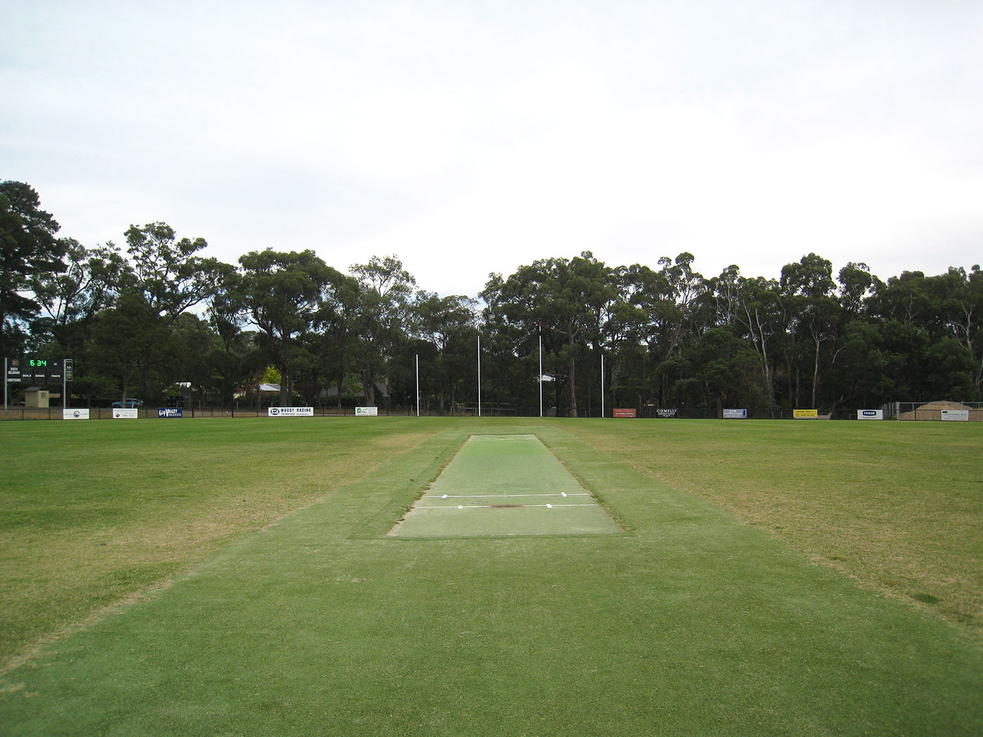 Maxwell's local club ground in Belgrave South, Melbourne