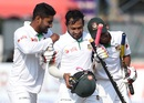 Imrul Kayes, Mushfiqur Rahim and Mehedi Hasan bask in glory, Sri Lanka v Bangladesh, 2nd Test, Colombo, 5th day, March 19, 2017