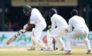 Shakib Al Hasan was bowled with the target 29 runs away, Sri Lanka v Bangladesh, 2nd Test, Colombo, 5th day, March 19, 2017