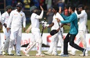Bangladesh celebrate their landmark victory, Sri Lanka v Bangladesh, 2nd Test, Colombo, 5th day, March 19, 2017