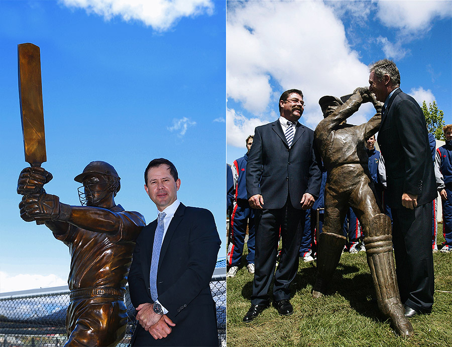 Tassie's finest: Punter and Boonie at Bellerive Oval