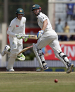 Shaun Marsh and Peter Handscomb run between the wickets, India v Australia, 3rd Test, Ranchi, 5th day, March 20, 2017