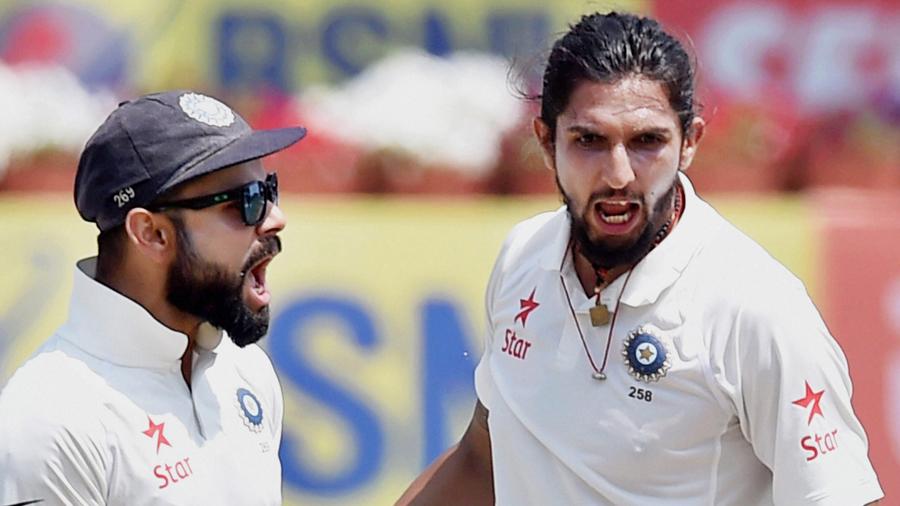 India v Australia: third Test, day five