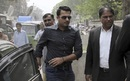 Sharjeel Khan appears at the offices of the Federal Investigation Authority, Lahore, March 21, 2017