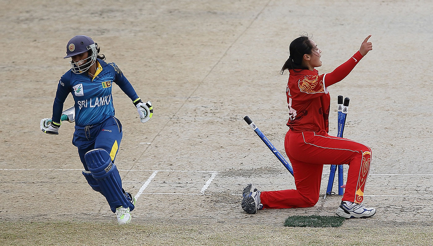 One way for cricket to spread in China is through the women's game