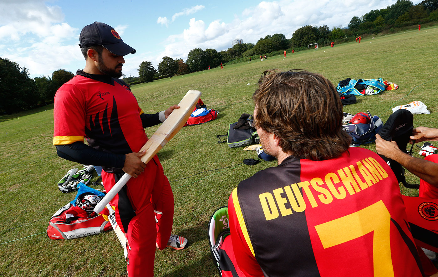 Refugees from Pakistan and Afghanistan have helped popularise cricket in Germany