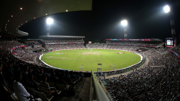 Eden Gardens: home to 100,000 screaming fans