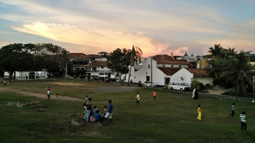 Sunset at Galle Fort