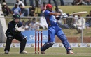 Shafiqullah muscles the ball away, Afghanistan v Ireland, 4th ODI, Greater Noida, March 22, 2017