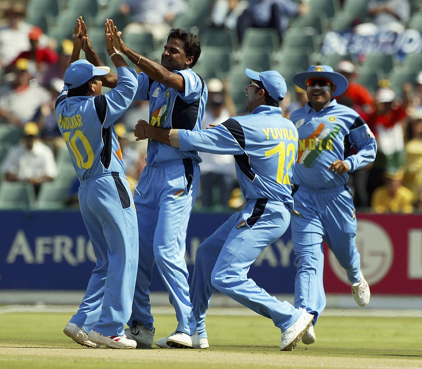 In the 2003 World Cup, Srinath was golden till the final