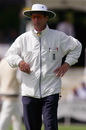 Jeremy Lloyds was one of the on-field umpires, Worcestershire v Lancashire, County Championship Division Two, Worcester, 3rd day, April 29, 2005